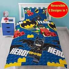 Lego Batman Hero Single Duvet Cover Set Reversible 2 in 1