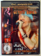 GUNS N´ ROSES - The Broadcast Archives Live Hardrock - iPod geeignete DVD / MP3