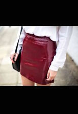Zara Faux Leather Skirts for Women