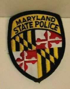 MARYLAND STATE  POLICE OFFICER  patch