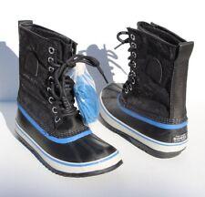"SOREL 1964 Premium CVS Waterproof Boot Black/Blue Women's Size 8 ""NEW"""