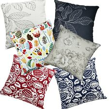Pillow Cover*A-Grade Cotton Canvas Sofa Seat Pad Cushion Case Custom Size*Lf1