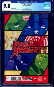 Young Avengers #1 CGC 9.8 DISNEY+ 2013 SERIES NEW TEAM NM/MT HOT SERIES