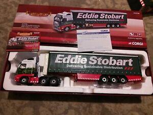 EDDIE STOBART LTD VOLVO FH FACELIFT CURTAINSIDE CARLISLE (Corgi Model CC14030)