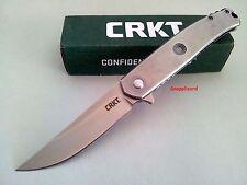 CRKT Vizzle 5320 Flipper Folding Pocket Knife Ball Bearing Pivot 8Cr13MoV EDC