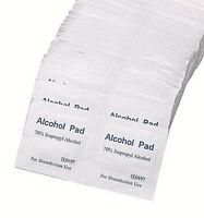 10 20 50 x Alcohol Medi Swabs Piercing Tattoo Skin pads Screen Wipes Sterile 70%