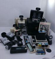 VINTAGE POLAROID LOT Bell Howell Kodak Kamera Early Flash Cameras Mixed Set
