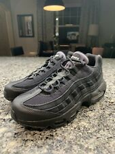 Nike Air Max 95 Essential Triple Black Shoes (AT9865-001) Men's 6 Women's 7.5