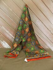 """Chelsea Cambell Silk Scarf 58"""" X 11.5"""" Multi-Colors NWT $38"""