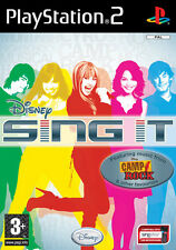 Disney Sing It! Camp Rock PS2 Playstation 2 IT IMPORT DISNEY INTERACTIVE
