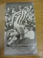 """1950's-00's Autograph: Stoke City - Jimmy Greenhoff [Approx 5""""x 8""""] Hand Signed"""
