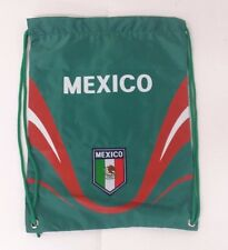 Mexico Cinch Bag Color Green Official Licensed Product  NWOT