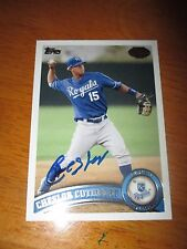 CHESLOR CUTHBERT Royals Signed 2011 Topps Pro Debut Rookie Card AUTO Autograph