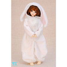 Volks Doll Party 33 Super Dollfie Mini Fluffy White Rabbit pajamas MSD SDM MDD
