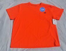 Genuine Dickies Men's Short Sleeve Performance Pocket T-Shirt 2 XL Orange