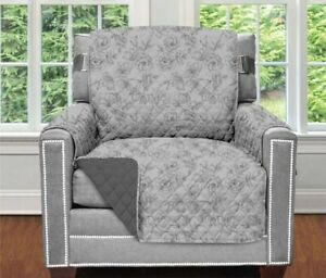 Original Patent Pending Reversible Chair Protector for Seat Width to