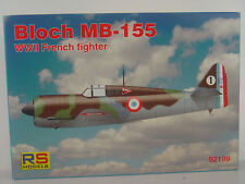 Bloch mb-155 chasse-RS Models Kit 1:72 - 92199 #e