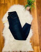 New  Womens Kut From The Kloth Skinny jeans Blue denim jean  Size 4