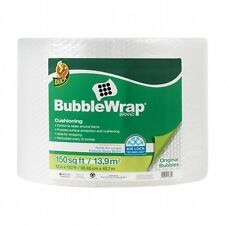 "Duck Brand Bubble Wrap Roll 3/16"" Original Bubble Cushioning 12"" x 150' Perfo..."