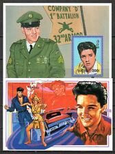 Mongolia - 1996 60th birthday Elvis Presley - Mi. Bl. 252-53 MNH