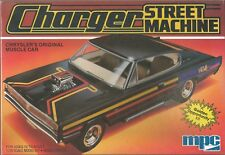 MPC Dodge Charger Street Machine Plastic Model Car 1-0763