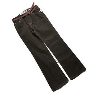 New OLD NAVY Womens Size 1 Reg (30 x 30) Stretch Brown Boot Leg Corduroy Pants