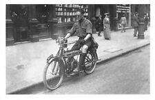 Motor Cycle Scout 1914 The Douglas motorcycle, engine, Nostalgia Reprint