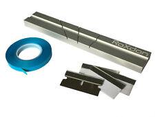 "RoXdon Reel to Reel 1/4"" Tape Splicing Block+ 4 Splice Blades + Splicing Tape"