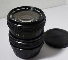 CLASSIC MANUAL FOCUS COSINA 28-50mm ZOOM LENS FITS PENTAX FILM & DIGITAL SLRs
