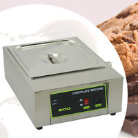ALD Red Electric Chocolate Melter8 kg Tempering Machine2 TanksDigital