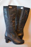 Ladies  UGG  Australia  dark grey  zip up sheepskin  boots UK 3.5, EU 36