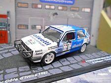 VW Volkswagen Golf II GTI 16V Gr.A Rallye Bandama 1987 #4 Eriksson IXO Alt 1:43