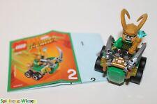 LEGO® MARVEL™ Super Heroes Micro-Minifigur: Loki mit Fahrzeug -NEU-