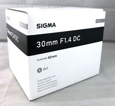 New SIGMA 30mm f/1.4 DC HSM ART Lens for SONY Alpha A Mount Made in Japan