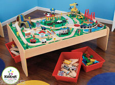 Play set by Kidkraft -- Waterfall Mountain Train set & Table by Kidkraft - wood