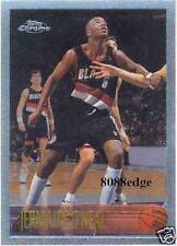 1996-97 TOPPS CHROME ROOKIE CARD RC: JERMAINE O'NEAL #191 PORTLAND BLAZERS