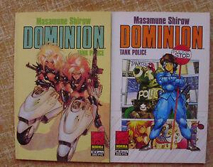 Dominion, Tank Police/ Números 2 y 3/ Norma Editorial/Manga/Masamune Shirow/1994
