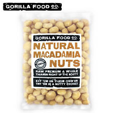 Premium Fresh Crop Macadamia Nuts Raw Whole Unsalted (Fast, Free Ship!)