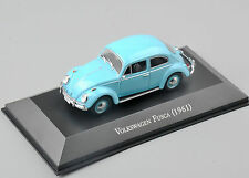 Atlas 1/43th Scale Diecast  Volkswagen Fusca 1961 Car Vehicle Model Toys