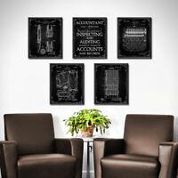 NURSE Set of 4 Prints Office Decor Wall Art Nursing Student Graduation Gift 1876