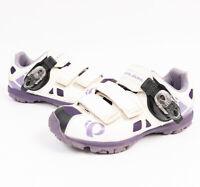 Pearl Izumi Womens X-Alp Enduro IV Mountain Bike Shoes W/ SPD Cleats Size EU 38