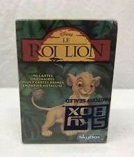 "NEW- Disney's The Lion King ""Le Roi Lion"" French Skybox 90 Trading Card Set"
