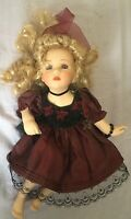 Beautiful Porcelain Doll Collectible