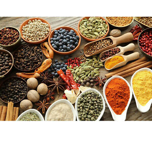 100g Whole Ground Herbs & Spices Nuts & Seeds Etc Premium Quality 100+ Varieties