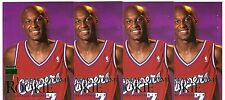 LAMAR ODOM ROOKIE LOT 4 CARDS 1999-00 SKYBOX PREMIUM 104 LA CLIPPERS LAKERS