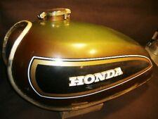 Honda CB550 gas fuel tank 1974 brown/black CB 550 17500-374-810TF blems