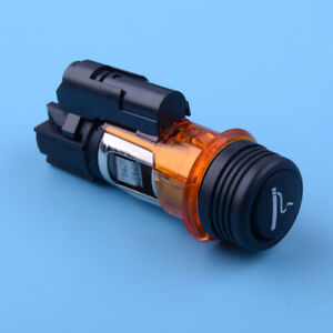 Car Cigarette Lighter Housing Socket Fit For PEUGEOT 206 308 406 607 1007 12V