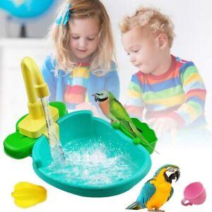 Shower Bathtub Bird Bath Parrot Bird Automatic Faucet Bathing Tub with Tub
