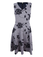 Tommy Hilfiger Women's Floral-Print Fit & Flare Dress