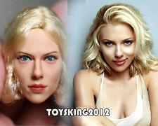 KUMIK 1/6 Scarlett Johansson Head Sculpt For Hot Toys Female Body in stock